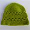 crochet baby beanie | apple green | baby shower gift | newborn - 3+ months