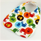 Baby Dribble Bib, Cute Lion Cotton Fabric, Bamboo Toweling, Snap Fastened.