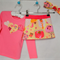 owls winter reverse skirt cord pockets head band applique hearts top 1-2 years