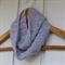 crochet infinity scarf   modern grey   baby shower gift 3 months - 2+ yrs