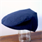 Boys Driving Cap Vintage Hat. Navy Blue Linen. Page Boy, newborn, cake smash