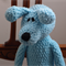 Big Ted: crocheted, plush, chenille, super soft toy bear, boy, baby shower