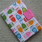 A5 Notebook Cover - Owls