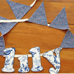 LILY.. handmade name bunting for a unique gift.