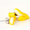 Banana studs - polymer clay earrings - banana earrings