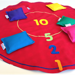 Beanbag Toss Game ~ Red