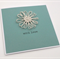 Twine Daisy Flower Card - with love