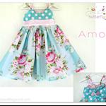 Amor Dress - Custom Order  Size 1 - 5 years