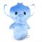 Blue Elephant Rattle Toy