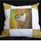 Cushion Cover Bird Wildlife Art  Colourful Throw Pillow Decorative Cushion