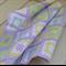 baby blanket | crochet granny squares | pastel lemon, aqua, white, mauve | gift