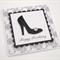 Black Glitter High Heel Birthday Card