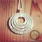 Lush 4 stack Pendant/ Hand Stamped/ pendant/ Jewellery/ Necklace