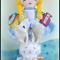 Alice & White Rabbit (Alice in Wonderland) Softie Doll