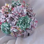 paper flower bouquet - floral prints