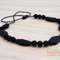 Silicone Teething / Nursing Necklaces - Black, Audrey