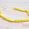 Silicone Teething / Nursing Necklaces - Pastel Yellow, Audrey
