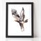 Tasmanian Wedge-Tailed Eagle Watercolour A4  Print