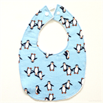 LIMITED STOCK BUY 3 GET 4th FREE Blue Penguin Bib