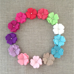 Blossom flower hair clip, flower, accessory