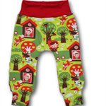 SIZE 0 Red Riding Hood Knit Pants