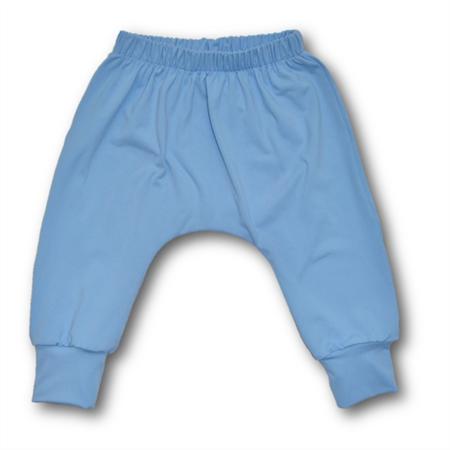 SIZE 1 Blue Stretch Harem Knit Pants