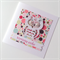 Birthday wishes polka dots rainbow colours laser cut white owl friend mum card