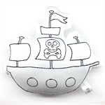 Colour Me Pirate Ship Toy