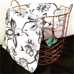 Heavenly Hawaiian Travel Bag Set: large tote and small mesh bag