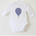 Hot Air Balloon Applique Onesie Bodysuit/Blouse/ Tshirt Shirt Long Sleeve