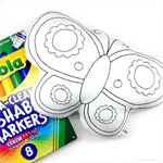 Colour Me Butterfly with Washable Markers
