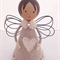 Wooden Angel peg doll