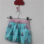 Girls gathered skirt size 2