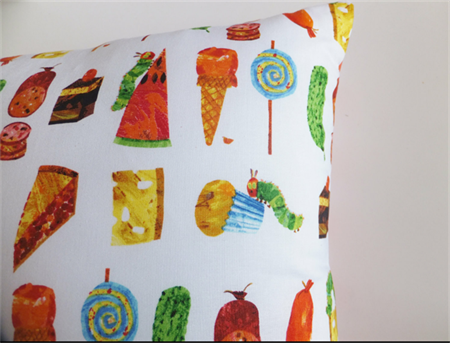The Very Hungry Caterpillar  Cushion