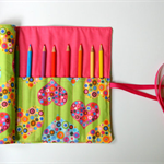 All My Heart Pencil Roll Includes 12 Quality Staedtler Pencils + One HB