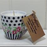 Gardenia Vintage Mini Tea Cup Limited Edition Candle