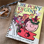 The Pony Engine Upcycled Lined Notebook