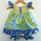 2 Piece Baby Toddler Outfit, French Provincial, sizes 0-3 months to 18-24 months