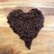 Organic Coffee Body Scrub, resealable 50g travel pouch.