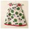 "Girls baby dress ""floral retro"" A line dress"