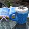 Mug cozy, coffee cosy, cup warmer | royal blue, birthday gift, gift