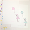 "Dream Big Little Darling Illustration Print.  8x10"" / A4"