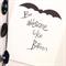 "Be Like Batman Illustration Print.  8x10"" / A4"