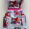 50's Fantasy in pink ladies apron traditional