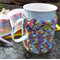 Mug cozy, coffee cosy, cup warmer | modern & trendy multicolours | gift