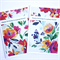 Happy Birthday Friend Cards - pack of 2 - Bright Floral Design