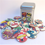 Wooden Memory Matching Game - Super Hero Edition
