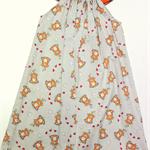 orange clock , dress, size 6