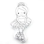 Colour Me Ballerina Toy