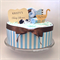 Let's stroll baby!! - blue/brown - 1 tier